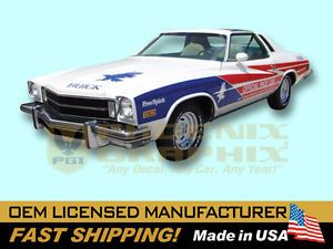 1975 Buick Free Spirit Indy 500 Pace Car Decals Stripes Kit