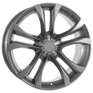 18 inch Grey Audi Wheels Rims Fit Audi A4 A6 A8 S4 S6 S8 TT TTS