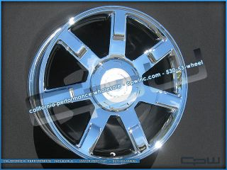 "Marcellino 22"" Chrome Wheels Rims OE Style 08 09 10 11 12 for Cadillac Escalade"