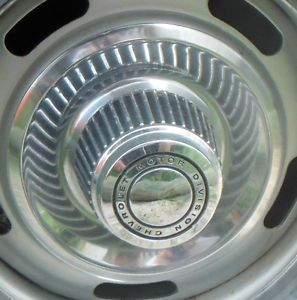 C3 Corvette Rally Wheel Center Cap 1968 1982