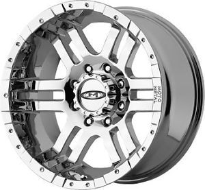 "20"" Moto Metal 951 Chrome Chevy Ford Dodge Wheels Rims"