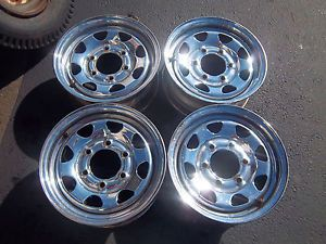 14 x 6 Chrome Nissan Pick Up Wheels Rims Factory 62269 89 97 Low Rider