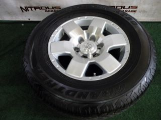 "1 17"" Used Toyota Tacoma Spare Wheel Tire FJ Cruiser 4Runner 265 70 17"