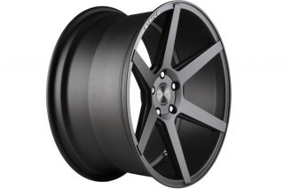 "20"" Infiniti G35 Coupe Stance SC 6IX SC6 Grey Concave Staggered Wheels Rims"
