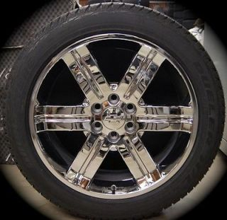 "New GMC Denali Yukon Sierra Cadillac Escalade Chrome 22"" Wheels Rims Tires CK919"