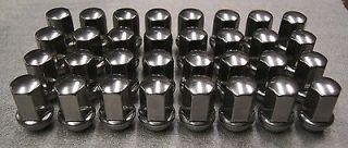 32 Chevy Silverado GMC Sierra 2500 3500 HD Factory Stainless Lugs Lug Nuts