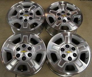 "Chevy Silverado Suburban Tahoe Avalanche Express 17"" Factory Wheels Rims 7"