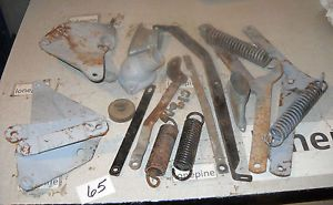 1948 Ford Parts Hood Hinges Water Neck Springs Bolts Misc