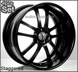 22inch AC Forged for Lexus Altima Impala Infiniti Jaguar Wheels Rims 3pc Forged