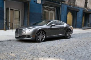 2013 Bentley Continental GT Speed in Granite with A Beluga Interior