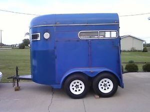 1988 7 ft Tall Rustler Horse Trailer