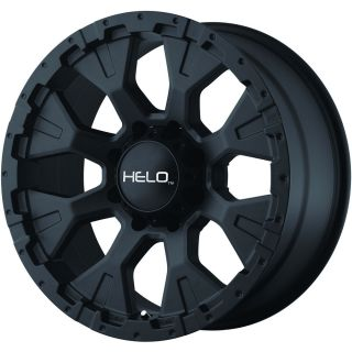 18x9 Black Helo HE878 5x5 5 12 Rims Toyo Open Country MT LT315 70R18 Tires