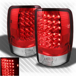 00 06 GMC Yukon Denali LED Tail Lights Lamps Rear Brake Pair Taillights New Set