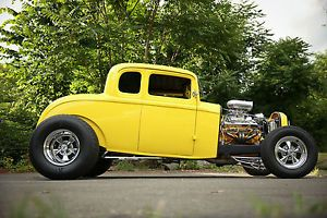 1932 Ford Coupe Deuce 5 Window Five Wndow Street Rod Hot Rod
