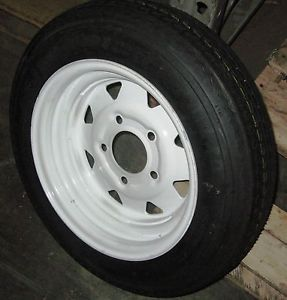 12 Trailer Wheel Tire