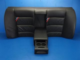 BMW E36 M3 Sedan Complete Black Rear Seat with Fold Down Center Console