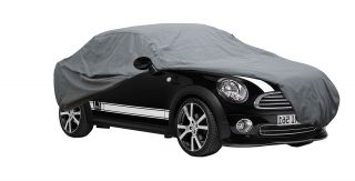 Mini Cooper 5 Layer Car Cover Fitted in Out Door Water Proof Rain Snow Sun Dust