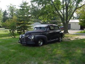 "1941 Chevy 2D Sedan Hot Rod Rat Rod Old School Cool ""Gun's Roses"""