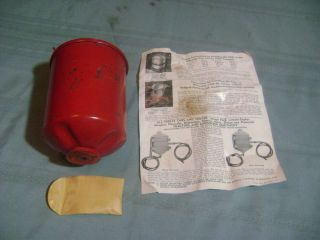 Vintage 1930s 1940s Ford Chevrolet Dodge Plymouth Automotive Oil Filter