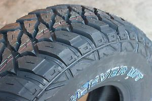 4 New 255 75 17 LRC Kenda Klever M T Mud Terrain Tires Rubicon Sub for 265 70
