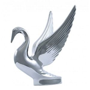 Chrome Swan Hood Ornament Peterbilt Kenworth Trucks