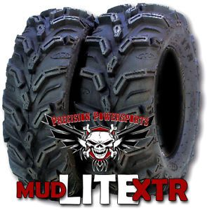 "4 26"" ITP Mud Lite XTR ATV Tires Set for 12"" Wheels"