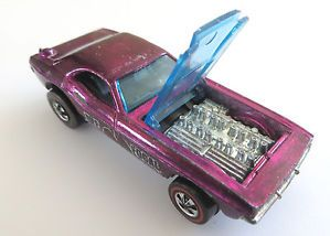 Hot Wheels Redline Bye Focal Magenta Purple Spectraflame 1970 1971 Hong Kong