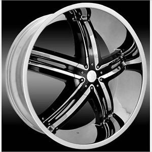 22 inch Envious Chrome Wheels Rims 5x4 5 Lexus ES300 350 GS300 350 RX300 350