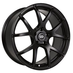 "17"" Enkei Matte Black M52 Performance Wheel Rim 17 x 7 5 40mm 5x114 3"