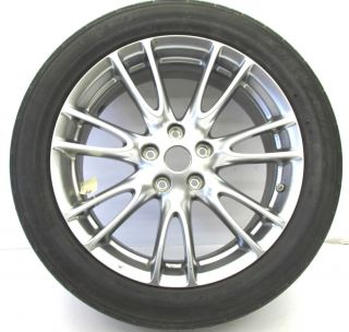 "2007 2008 Infiniti G35 Sedan Rim with Tire Package Wheel 18"" Alloy Enkei"