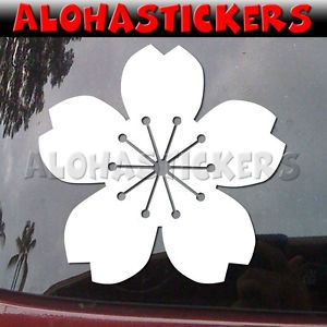 Sakura Cherry Blossom Flower Japan Car Graphics Vinyl Decal Window Sticker FR14