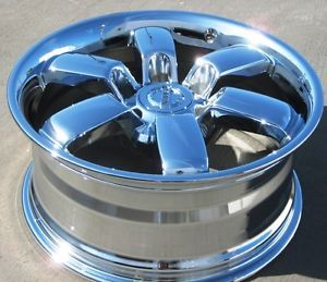 "Exchange Your Stock 18"" Factory Nissan Titan Pro 4X Chrome Wheels Rims 62489"