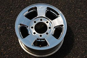 "Dodge RAM 2500 3500 17"" Rim Alloy 8 Lug Chrome Clad Wheel"
