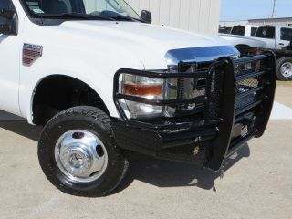 08 F350 Lariat 6 4L Power Stroke Nav DVD cm Flat Bed 4x4 Utility Ranch Hand TX