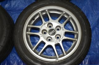 Mitsubishi Lancer Evolution EVO 3 4 5 O Z Enkei F1 Rally Wheels JDM 16 CN9A