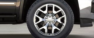 4 New 2014 Genuine GM Factory GMC Sierra Denali Chrome 20 Wheels Tires Yukon