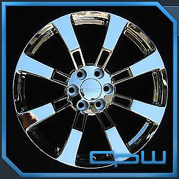 "22"" inch 22x9 GMC Yukon Sierra Denali Wheels Rims Chrome Finish New in Box"