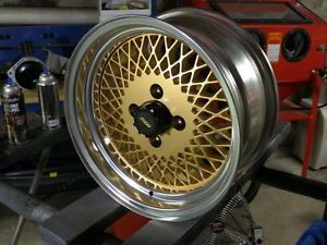 4 Lug 79 Restored Saleen Mustang Enkei 92 Style Wheels 15x7 Mesh Rims Any Color