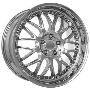19 inch Mercedes Benz Chrome Mesh Wheels Rims