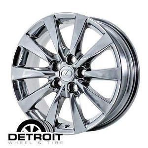 Lexus LS460 PVD Chrome Wheels Rims 18x7 5 Factory