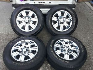 "2011 F150 Chrome 18"" Wheels 04 13 Tires FX4 Factory Expedition 275 65 18"