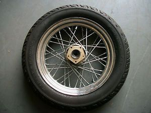 1987 Harley Davidson Flhtchrome Front Rim Wheel 16 inch 40 Spoke