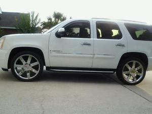 "2007 GMC Yukon Denali 24"" Wheels Rims Brilliant Chrome Finish 22"""