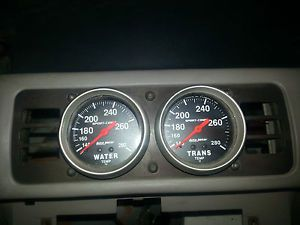 Fox Body Gauge Cage w Auto Meter Sport Comp Gauges