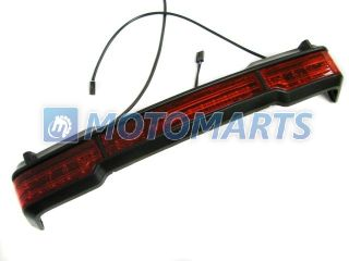 LED Tail Brake Light for Harley Touring Trunk King Tour Pack Wrap Around Accent