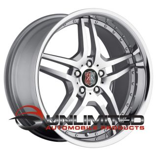"19"" MRR RW2 Silver Chrome Wheels Rims Fit Mercedes CL Class W215 W216 2000"