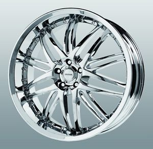 20 inch Verde Kaos Chrome Wheels Rims 5x4 5 Eclipse Maxima Altima Murano Rogue