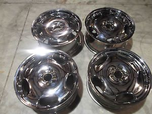 "19"" Lorinser RS1 Chrome Wheels Rims 5x112 Mercedes s CL Class S500 S550 CL500"