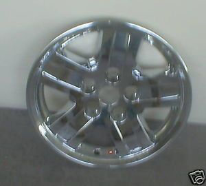 06 07 08 Dodge Durango Chrome Wheel Skins 18 In