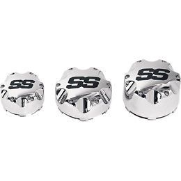 ITP SS Alloy Wheel Center Cap 4 137 Chrome Each P137SS Center Cap SS 4 137